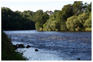 The Upper Craig fishing pool, Wester Elchies, River Spey